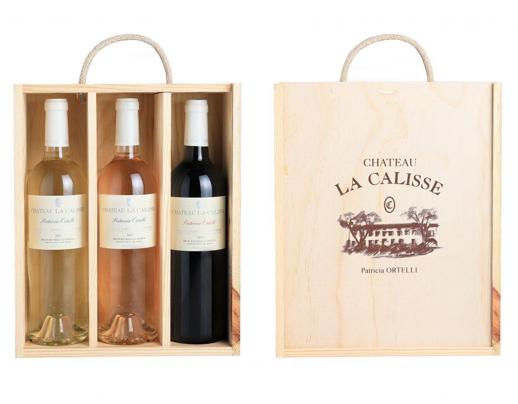 Coffrets cadeau vins de Provence